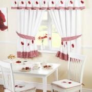 Kako odabrati zavese za kuhinju